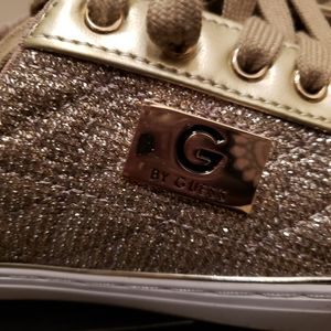 Guess office 2 gold shoes or sneakers